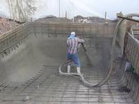 Steps to build a concrete in ground pool