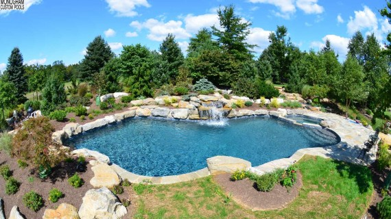 Cost of a concrete in ground pool in the NorthEast PA area built by a local pool builder