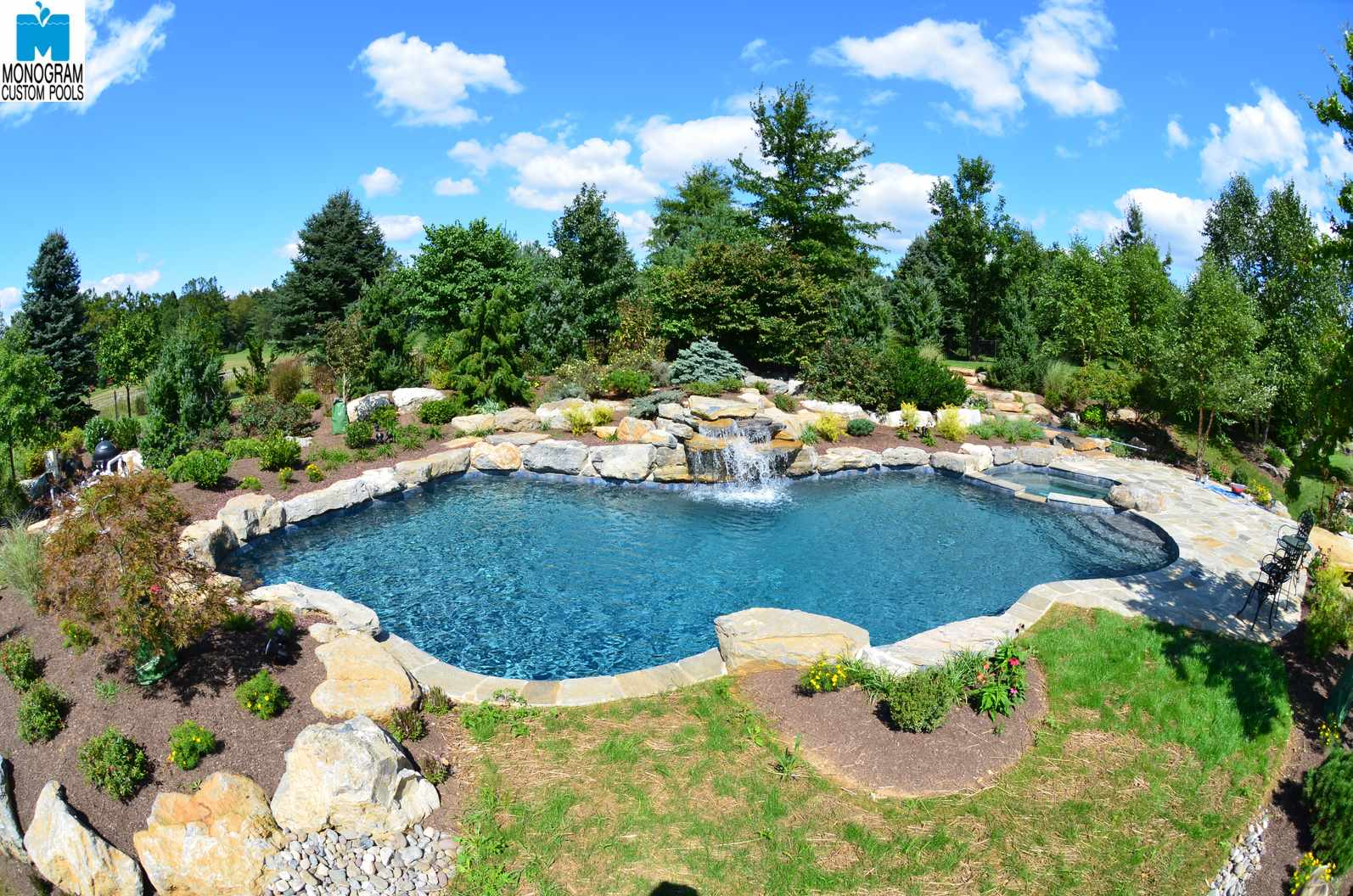 Inground Pool Cost >> How Much Does It Cost To Build A Concrete In Ground Pool Custom Pool