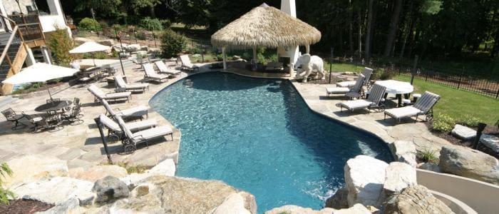 Salt Water Pool Designs salt water pools custom swimming pool design spas Best Salt Water Pools In Pa Saltwater Pools Vs Chlorine
