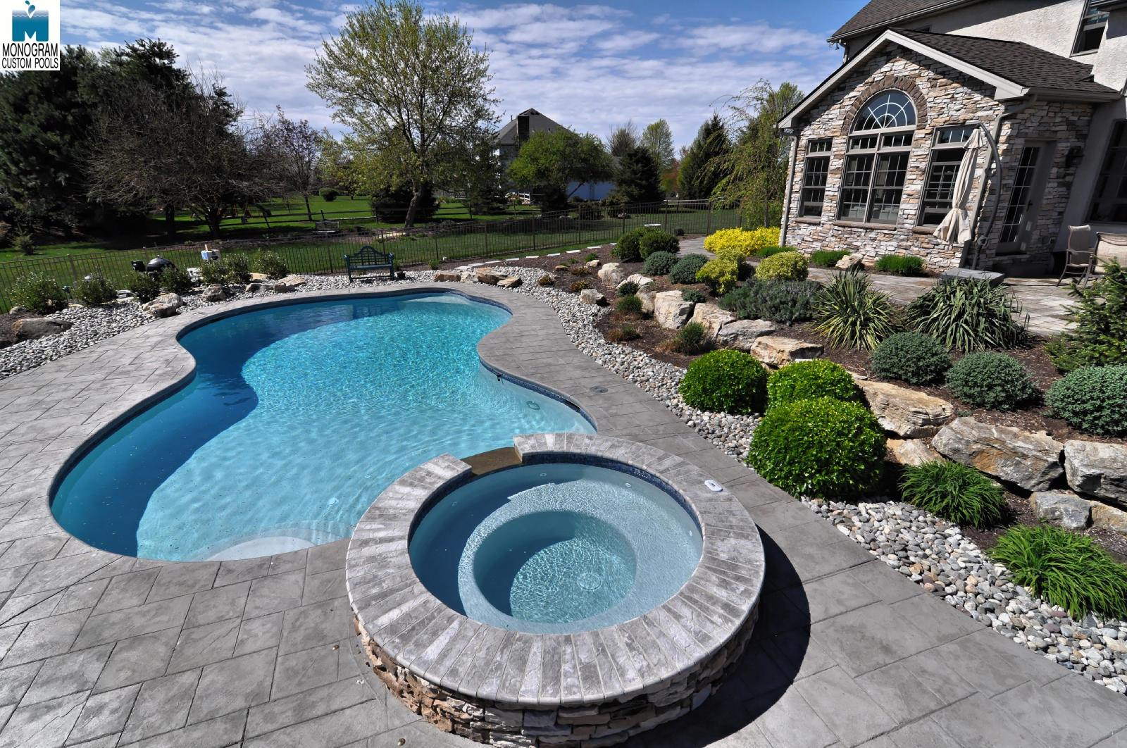 1 inground pool builders contractors in allentown pa for Custom inground swimming pools
