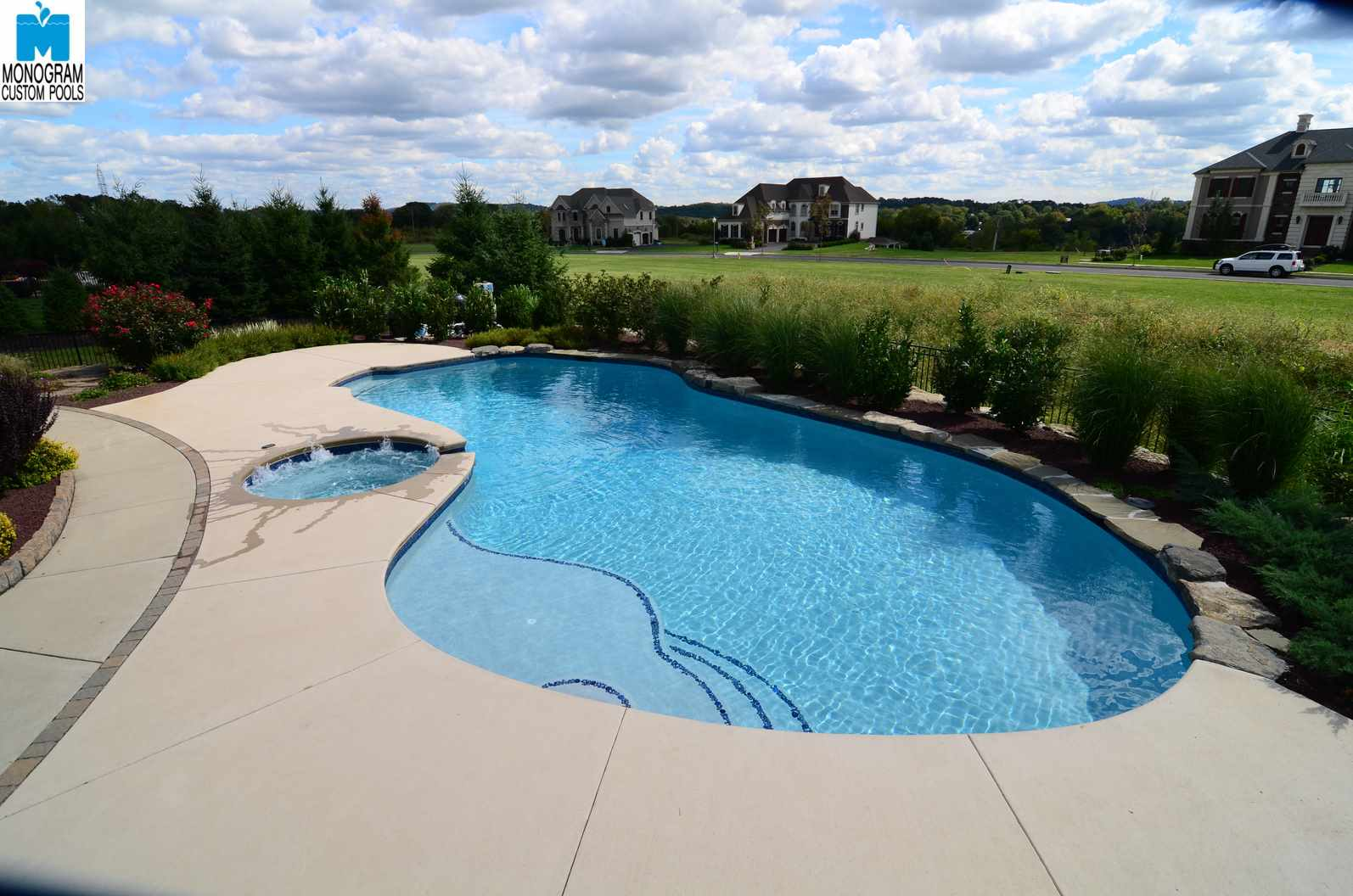 1 inground pool builders contractors in easton pa for Custom pool builder