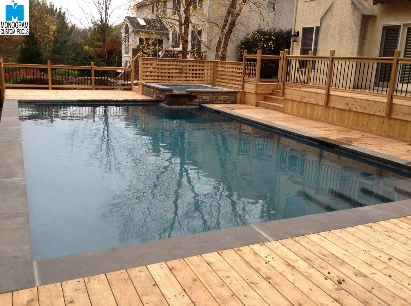 Custom Inground Pools. Custom Pool Builder Northeast Pa Inground Pools
