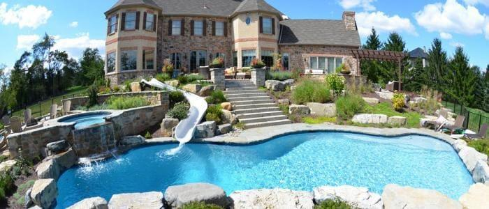 1 inground pool builders contractors in bucks county pa for In ground swimming pool contractors